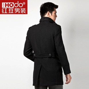 mens wool coatslong slim in business woolen coats jacket