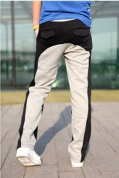 Max,Homme, spring clothing new men''s casual pants Korean shorts leisure trousers matching color men and straight men''s trousers