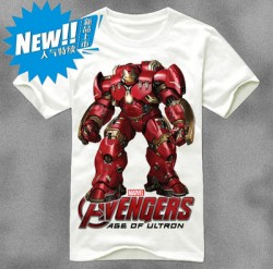 Iron Man t shirt, summer 2015 new, giant, huge, heavy, Avengers 2, two