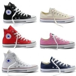 2014 new counter genuine classic converse high-top canvas shoes to help low shoes men shoes korean wave