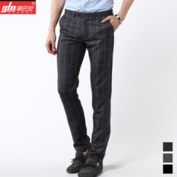 [SQ Man]2013 summer new slim fit men's business casual trousers
