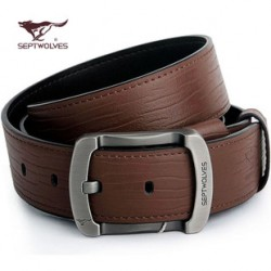 [SQ Man]fashion men's leather lounge leather pin buckle belt