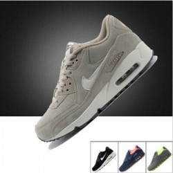 Authentic, Nike men shoes, NIKE,AIR,MAX90 cushioned running shoes new in autumn and winter, leather sneakers