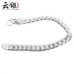 [SQ Man]990 silver bracelet for men,sterling silver jewelry men,male fashion jewelry