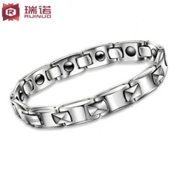 [SQ Man]tungsten gold couples bracelet,health men's tungsten steel jewelry,fashion Valentine's day gift for boyfriend