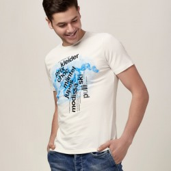 Men's short sleeve t-shirts, men's casual printed summer styles, letter printing short sleeve t-shirt men