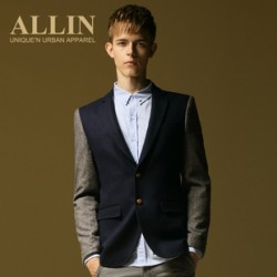 [SQ Man]ALLIN men''s autumn new style Korean little suits, mens slim leisure jacket suit WT3688