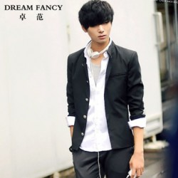 [SQ Man]Korean thin men small men''s suit coat thin autumn leisure suit England men''s slim fit tunic tide