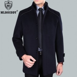 [SQ Man]MDLBOIDDY, installed in autumn and winter wool coat men''s long trench coat men''s business casual in thicker coats men