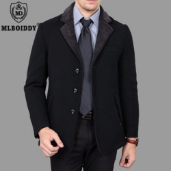 [SQ Man]MLBOIDDY, during the new young slim cropped coat men''s suit, thick wool coats
