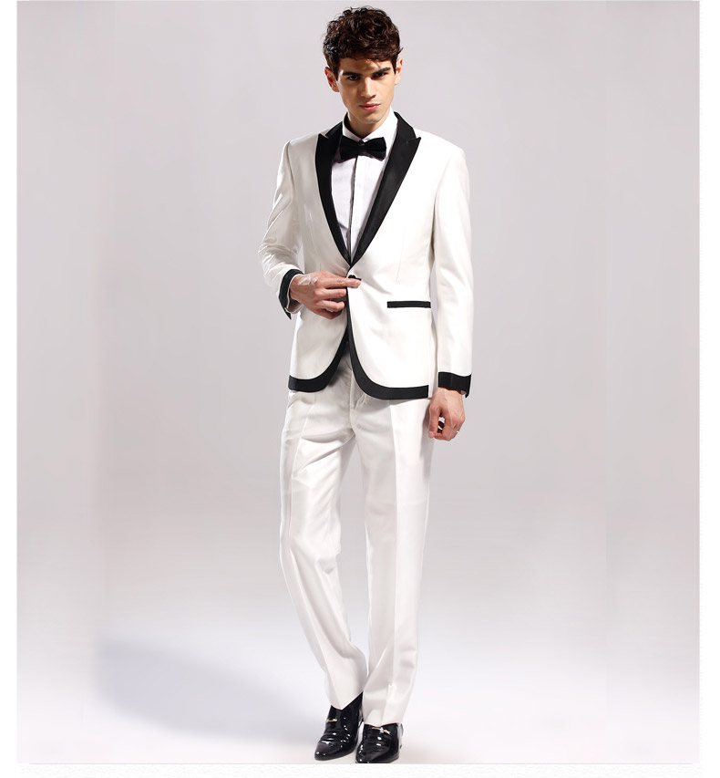 Luxury White Suits For Prom Component - Wedding Plan Ideas ...